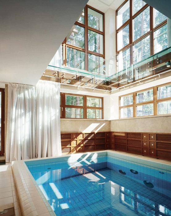 Загородный дом. бассейн из проекта , фото №3480
