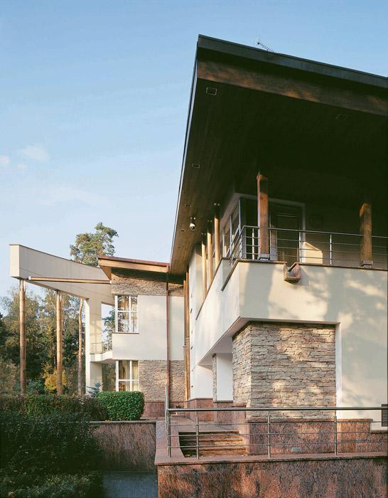 Загородный дом. фасад из проекта , фото №3460