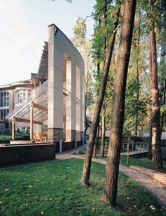 Загородный дом. зона отдыха из проекта , фото №3469