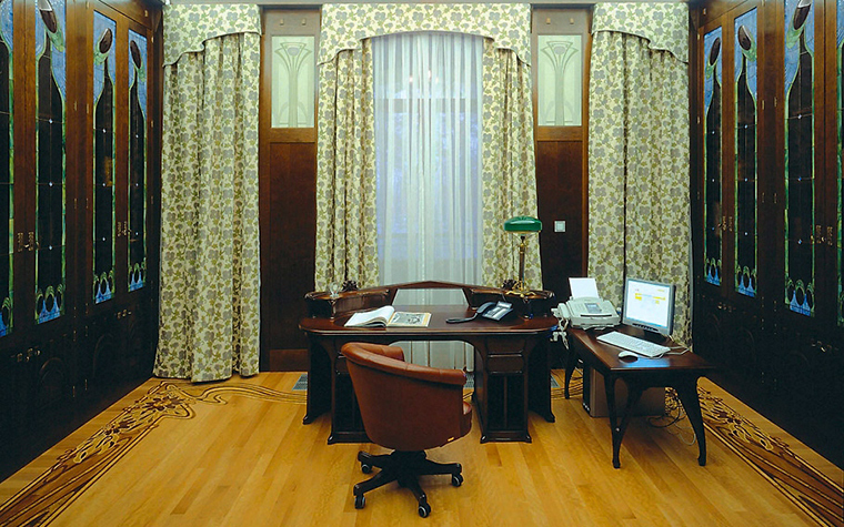 интерьер кабинета - фото № 3501