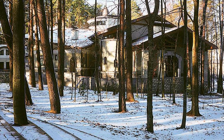 Фото № 3507 фасад  Загородный дом