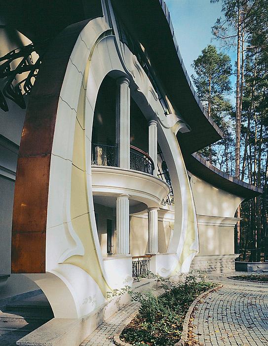 Фото № 3509 фасад  Загородный дом