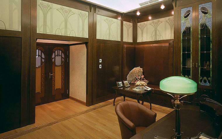 Фото № 3505 кабинет библиотека  Загородный дом