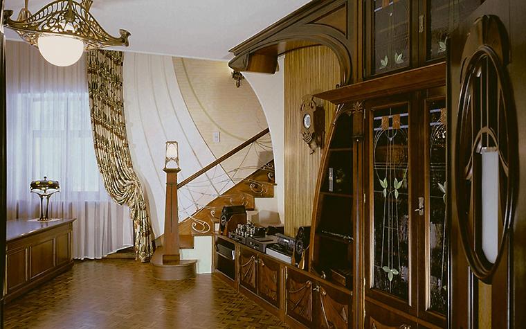 Фото № 3524 кабинет библиотека  Загородный дом