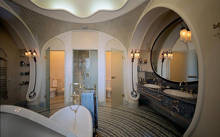 Фото № 3515 ванная  Загородный дом