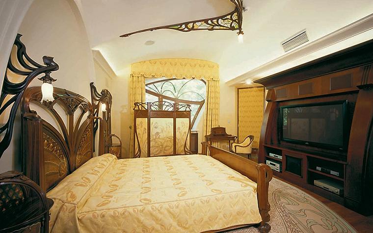 Фото № 3521 спальня  Загородный дом
