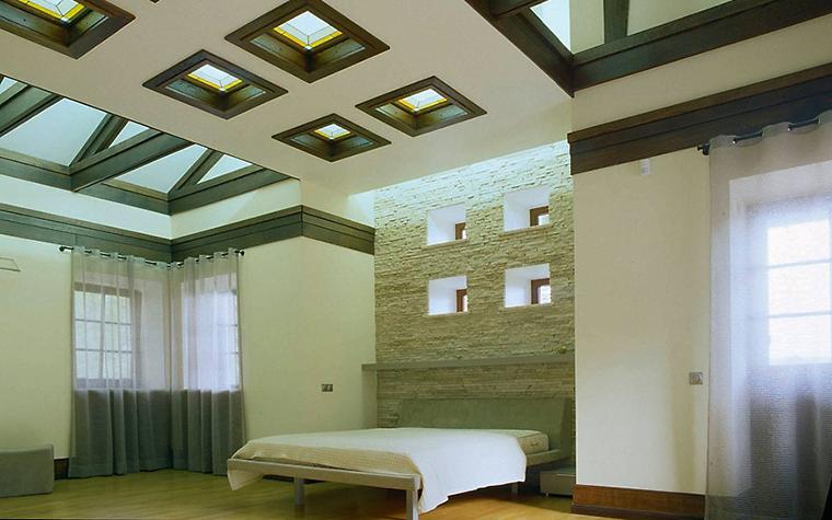 интерьер спальни - фото № 3537