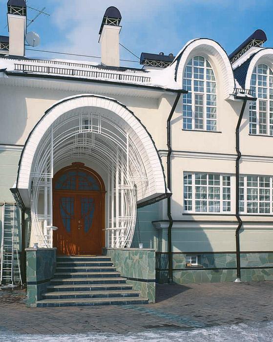 Фото № 3554 фасад  Загородный дом