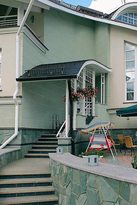 Фото № 3556 фасад  Загородный дом
