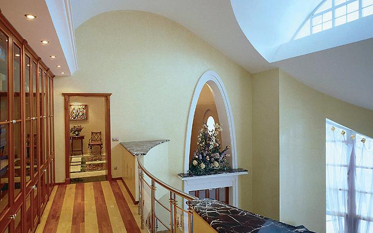 Загородный дом. холл из проекта , фото №6445