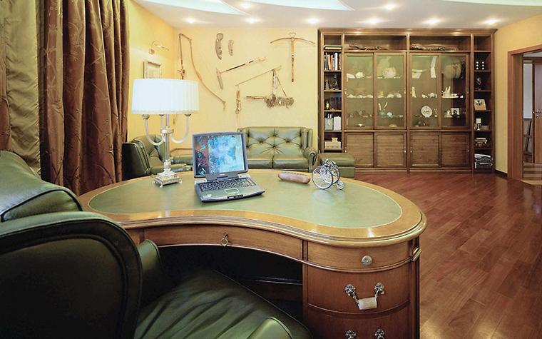 Фото № 3561 кабинет библиотека  Загородный дом