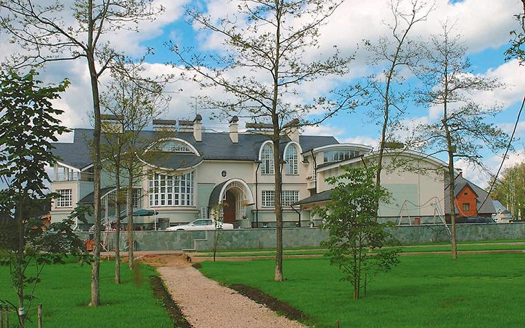 Фото № 3558 фасад  Загородный дом