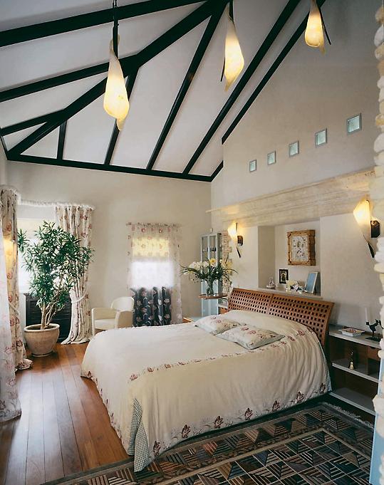 интерьер спальни - фото № 3584