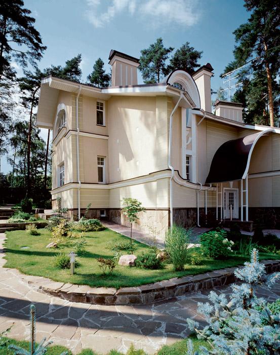 Фото № 3643 фасад  Загородный дом