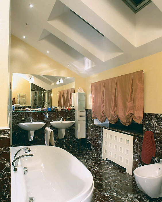 Фото № 3663 ванная  Загородный дом