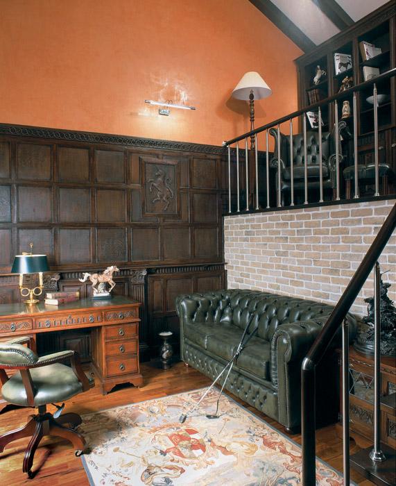 интерьер кабинета - фото № 3662