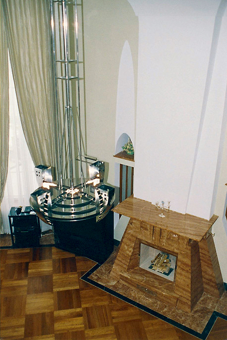 Загородный дом. гостиная из проекта , фото №3728
