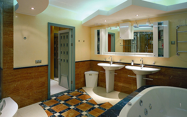интерьер ванной - фото № 6443