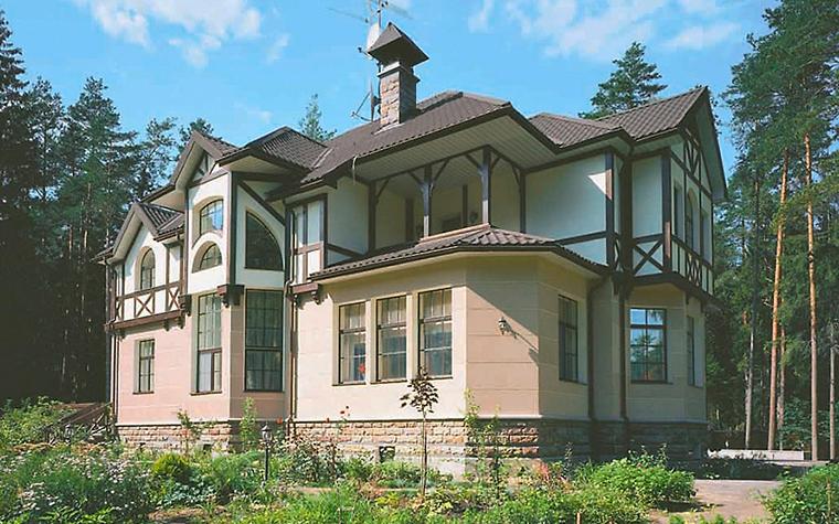 Загородный дом. фасад из проекта , фото №3740