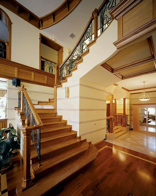 Загородный дом. холл из проекта , фото №3760