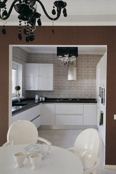 Фото № 5627 кухня  Загородный дом