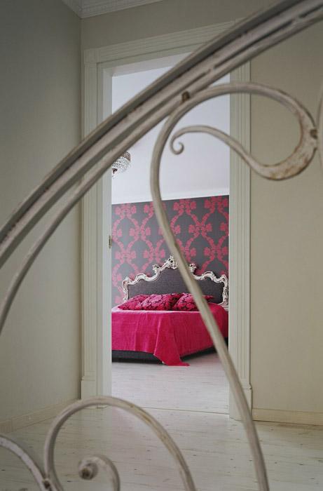 Фото № 5631 спальня  Загородный дом