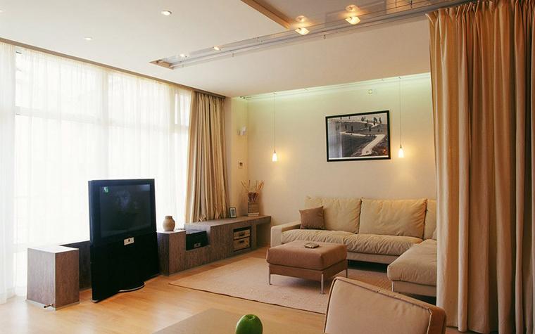 интерьер гостиной - фото № 5651