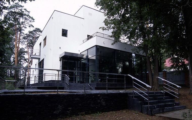Загородный дом. фасад из проекта , фото №6172