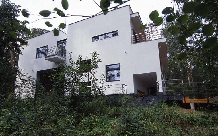 Загородный дом. фасад из проекта , фото №6164