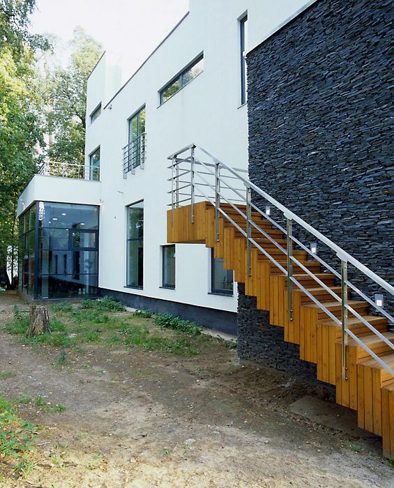Загородный дом. фасад из проекта , фото №6166