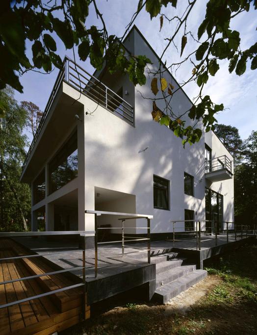 Загородный дом. фасад из проекта , фото №6171