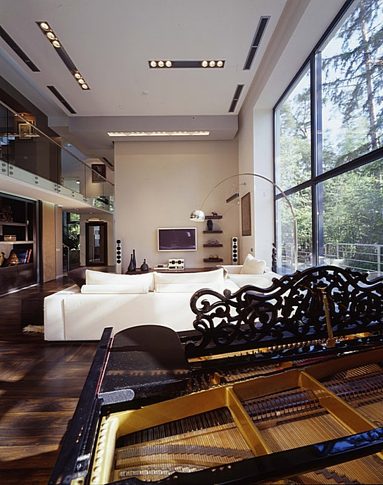 интерьер гостиной - фото № 6432