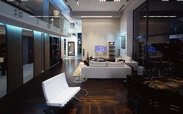 интерьер гостиной - фото № 6174