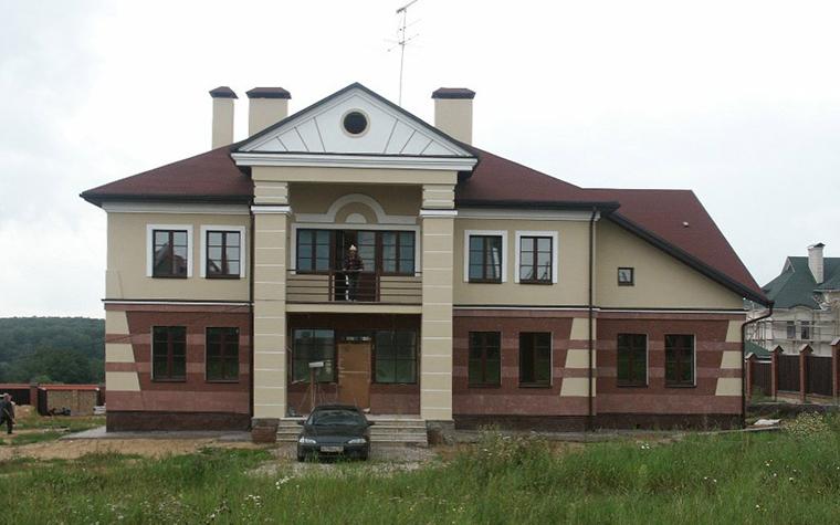 Загородный дом. фасад из проекта , фото №6203