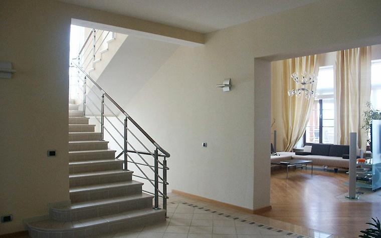 Загородный дом. холл из проекта , фото №6211