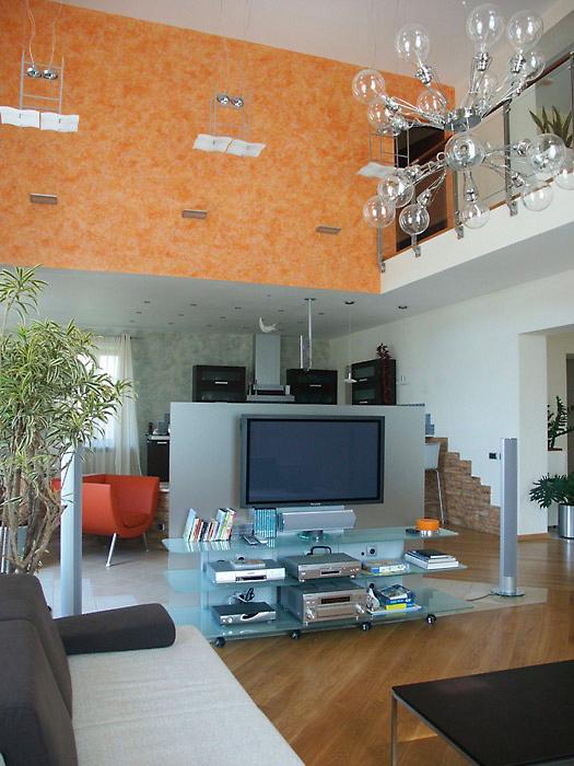 Загородный дом. гостиная из проекта , фото №6209
