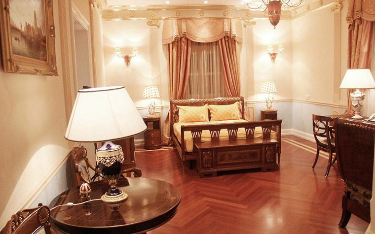 интерьер спальни - фото № 6224