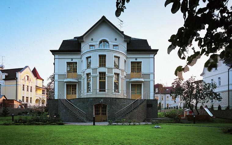 Загородный дом. фасад из проекта , фото №6816