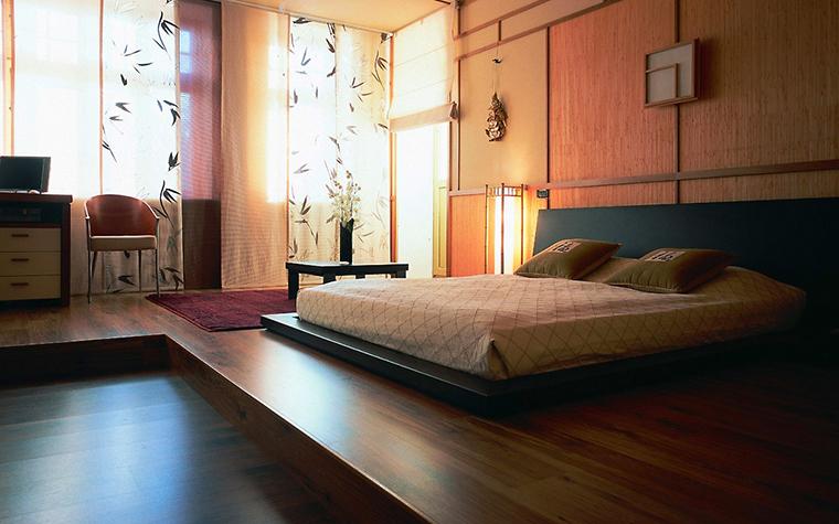 Загородный дом. спальня из проекта , фото №6817