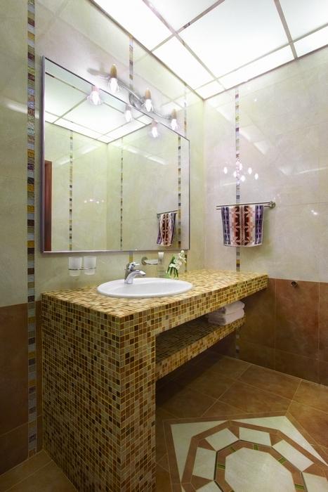 интерьер ванной - фото № 7116
