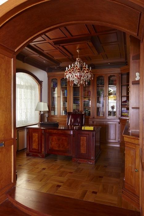 интерьер кабинета - фото № 7121