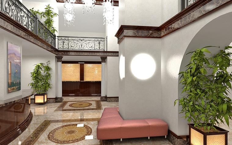 Загородный дом. холл из проекта , фото №8687