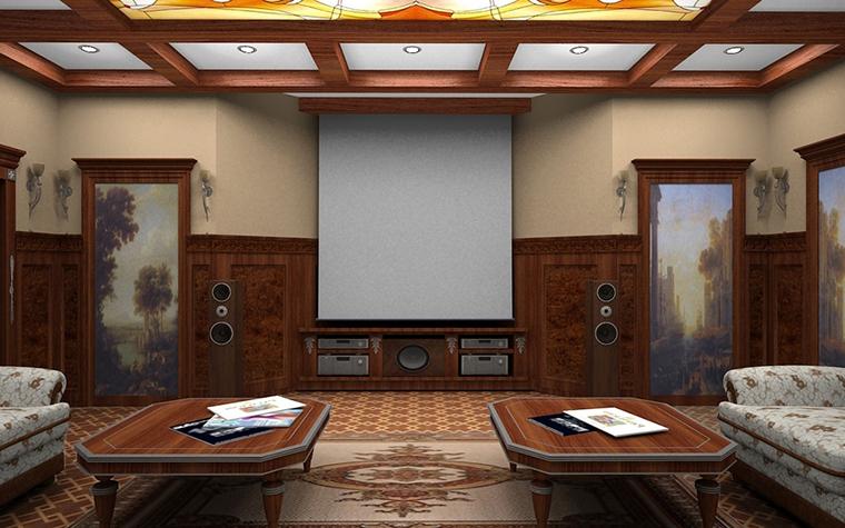 Фото № 8685 домашний кинотеатр  Загородный дом