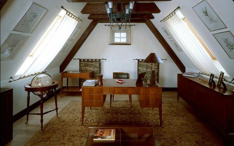 интерьер кабинета - фото № 7332