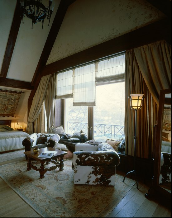 интерьер спальни - фото № 7341