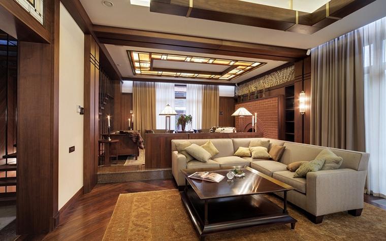 интерьер гостиной - фото № 7348