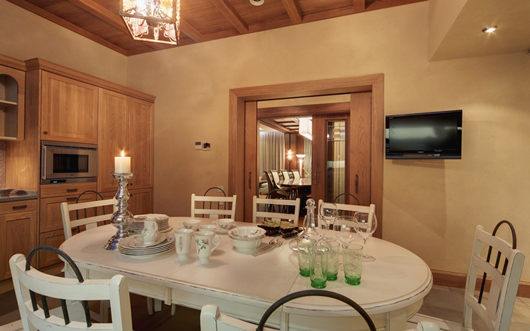 Загородный дом. кухня из проекта , фото №7370