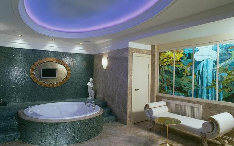 Фото № 7376 ванная  Загородный дом