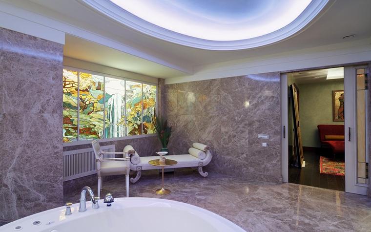 Фото № 7377 ванная  Загородный дом