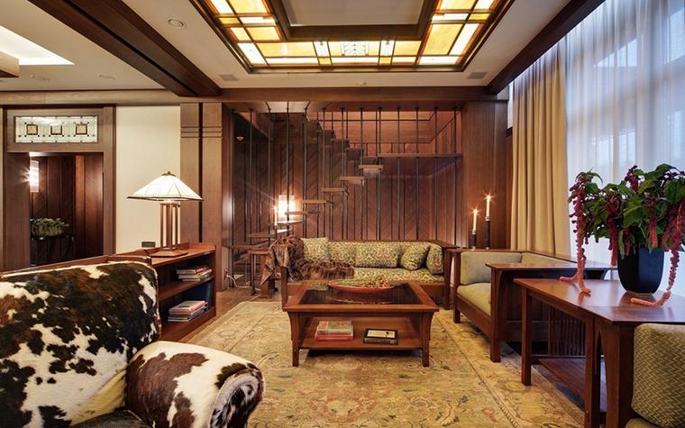 интерьер гостиной - фото № 7350